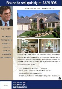 free real estate flyer11