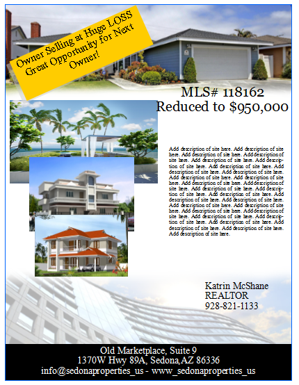 Publisher Real Estate Flyer Templates New Listing Real Estate Flyer