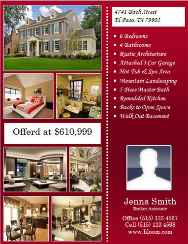 24 Stunning Real Estate Flyer Templates Demplates