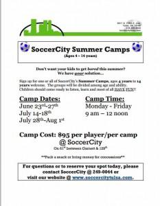 free smmer camp flyer10