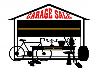 free yard sale flyer