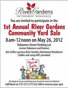 free yard sale11 flyer