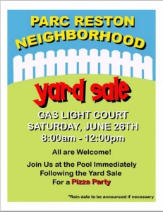 free yard sale13 flyer