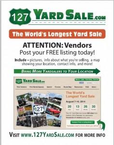 free yard sale14 flyer