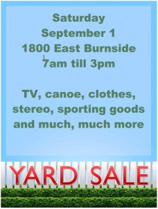15 free yard sale flyers of great help demplates. Black Bedroom Furniture Sets. Home Design Ideas
