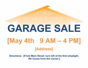 free yard sale5 flyer