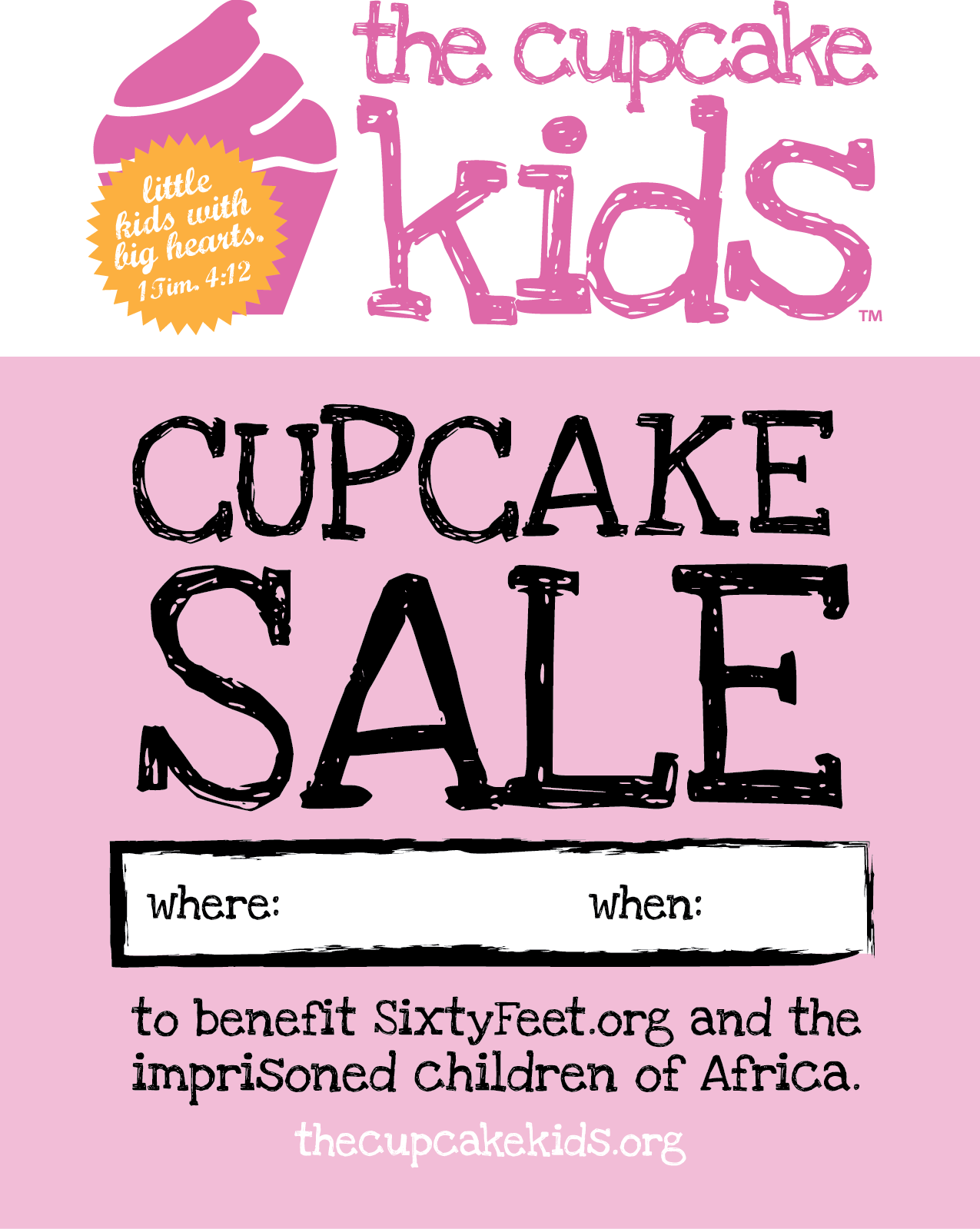 cupcake flyers too cute to ignore demplates cupcakeflyer7 8 printable cupcake flyer