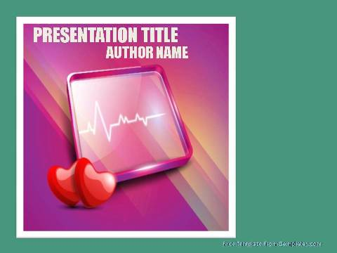Free Cardiology Powerpoint Template93