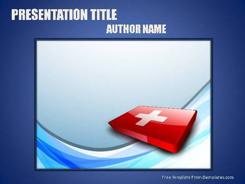 First Aid Powerpoint Template Demplates
