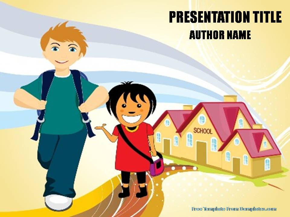 Kindergarten powerpoint templates archives demplates sample powerpoint template 498 a toneelgroepblik Image collections