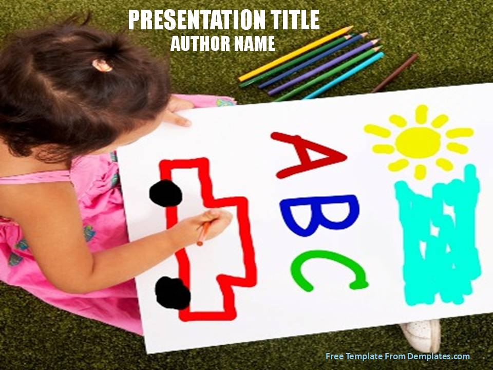 Kindergarten activities powerpoint template demplates sample powerpoint template 500 a toneelgroepblik Images
