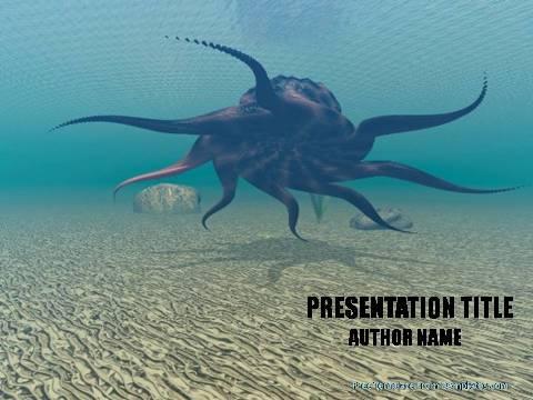Ocean Myths Powerpoint Template Demplates