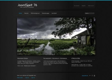 free joomla 3.2 responsive template11