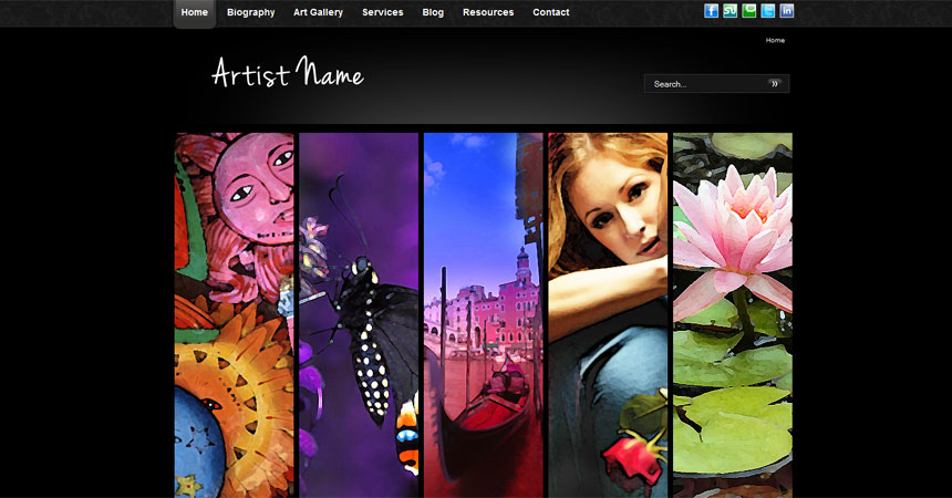 10 free joomla photo gallery templates and modules demplates for Photo templates free