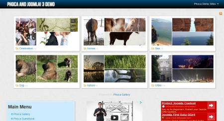 free joomla photogallery template4