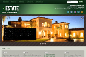 free joomla real estate template1