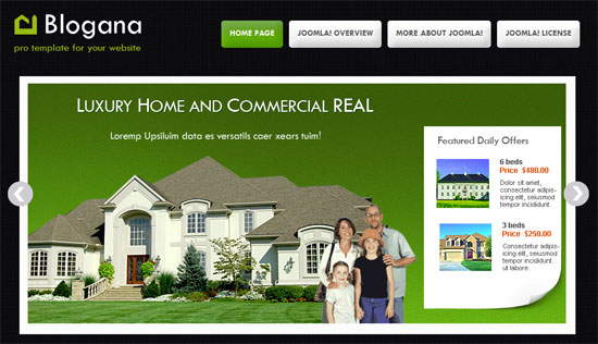free real estate templates