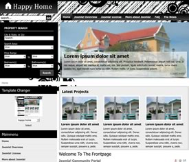 free joomla real estate template14