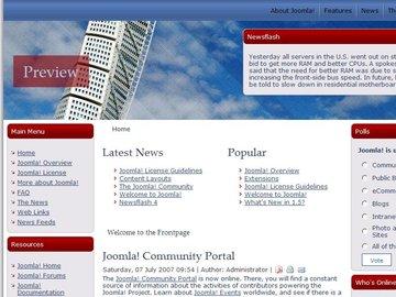 free joomla real estate template7