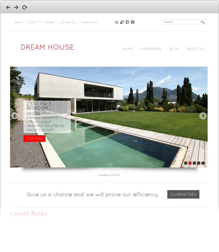 free joomla real estate template9