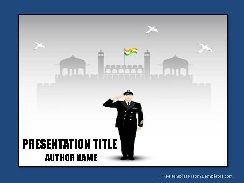 Patriotism Powerpoint Template Demplates