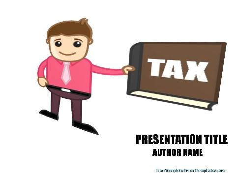 tax law powerpoint template demplates
