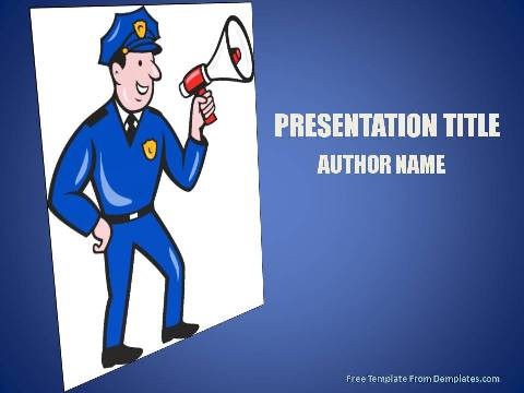 law enforcement jobs powerpoint template demplates