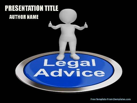 Legal Advice Powerpoint Template Demplates