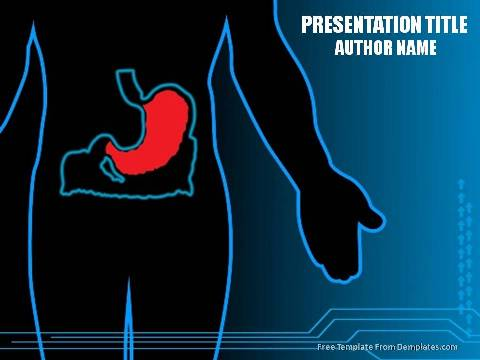 Aged digestive system powerpoint template free download demplates free powerpoint template 1235 toneelgroepblik Images