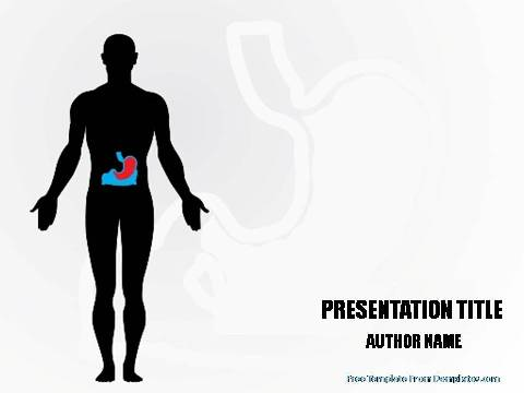 Types of digestive system powerpoint template demplates free powerpoint template 1237 toneelgroepblik Images