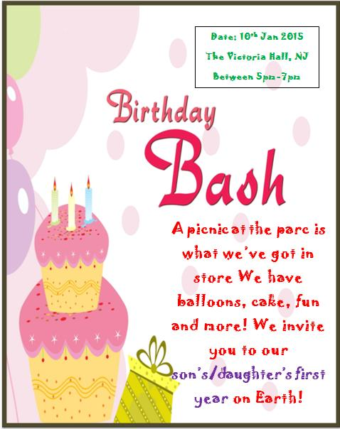 1st birthday invitaion template-8