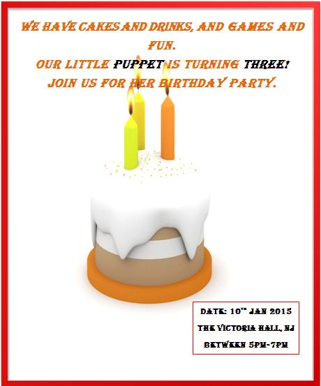 3rd Birthday Invitation Templates- 2