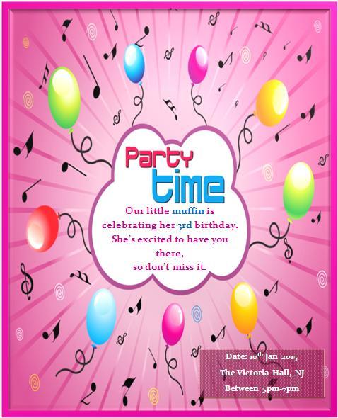 3rd birthday invitation wording demplates 3rd birthday invitation templates 6 filmwisefo