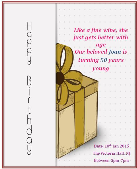 Birthday Invitation Template 47