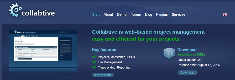 open source project managment tool 5