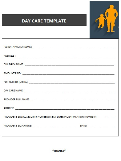 27 day care invoice template collection demplates day care template 20 saigontimesfo