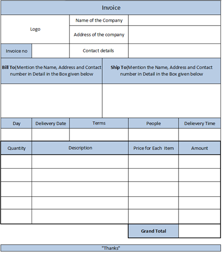 28 Catering Invoice Templates Free Download Demplates – Contact Details Template