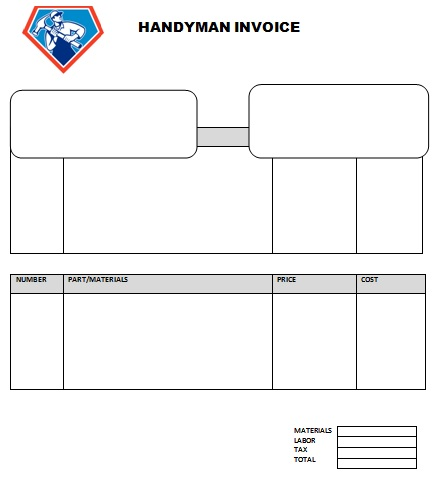 14 practiced handyman invoice templates - demplates, Invoice examples
