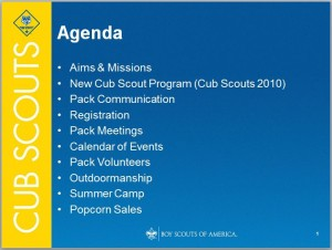 205 professional meeting agenda templates demplates for Boy scout powerpoint template