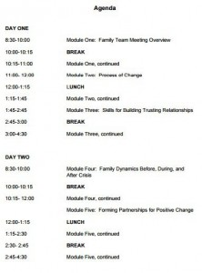 family team meeting agenda template-1