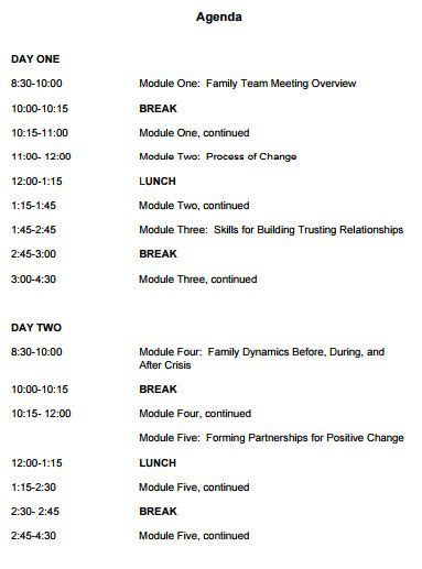205 professional meeting agenda templates demplates. Black Bedroom Furniture Sets. Home Design Ideas