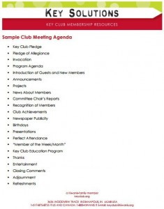 sample club meeting agenda template-2
