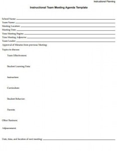 second grade team meeting agenda template-3