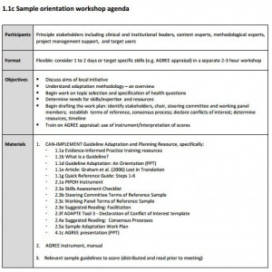 workshop agenda meeting template examples
