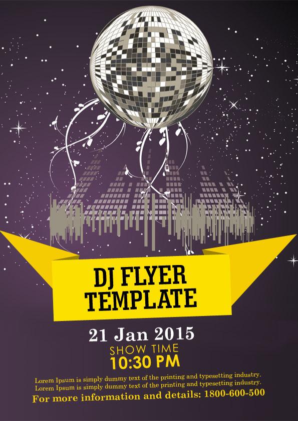 32 Spectacular Free Dj Flyer Templates Psd Doc Demplates