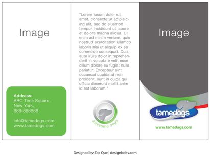 40 Professional Free Tri fold Brochure Templates Word PSD – Free Tri Fold Brochure Templates Word