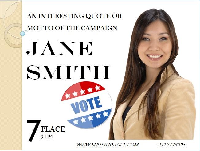 Political Campaign Flyer 6