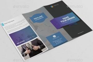 Tri fold brochure template for teachers