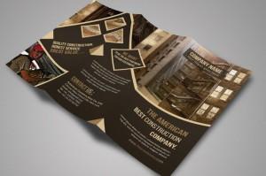Corporate Tri fold flyer