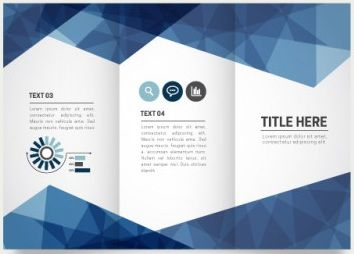 word template trifold brochure